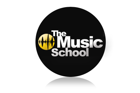 music school logo design