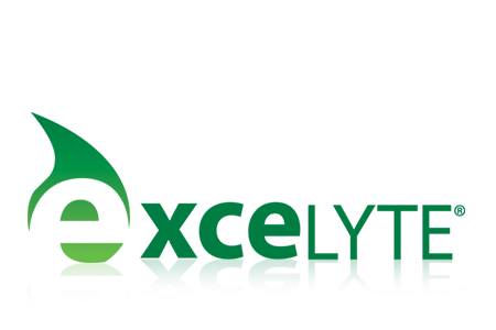 excelyte disinfectant logo design