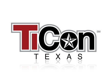 ticon texas logo design