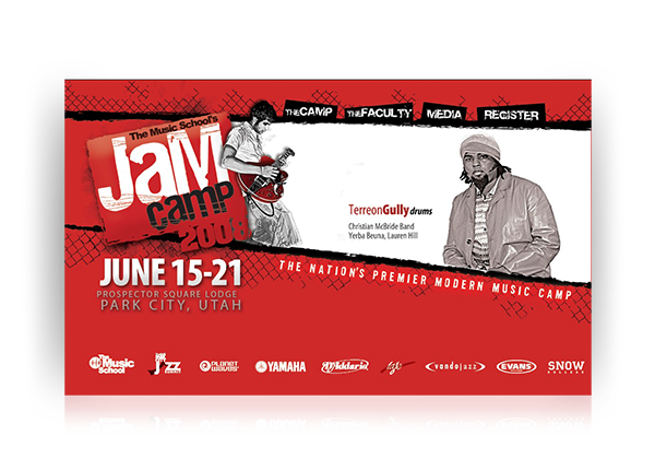 jam camp web design